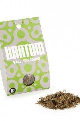 Kratom Bali (Mitragyna speciosa), 10 grammi