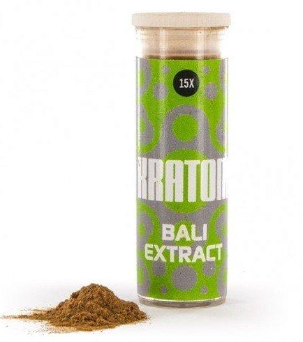 Kratom Bali 15x Extract (Mitragyna speciosa), 3 grammi