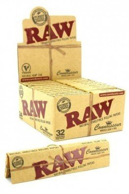 RAW Connoisseur Cartine King Size + Filtri