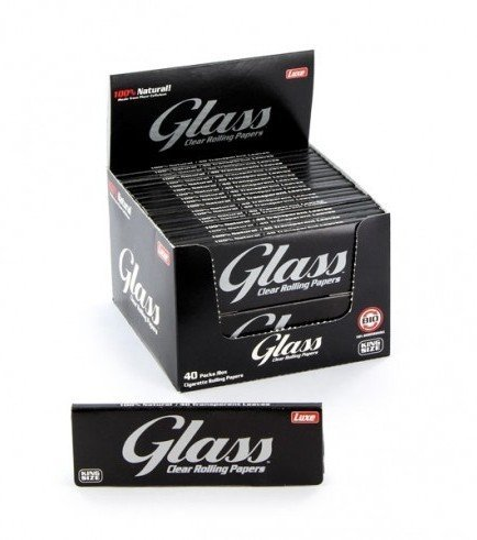 Cartine Glass Rolling Papers Transparent King Size
