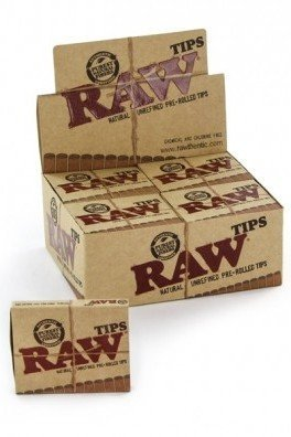 RAW Rolling Tips Prerolled