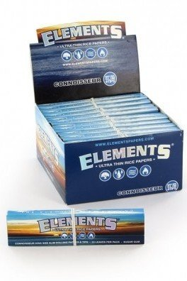 Elements Connoisseur Rolling Papers + Tips