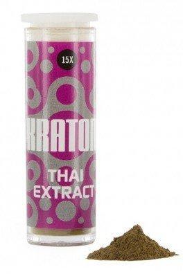 Kratom Thai 15x Extract (Mitragyna speciosa),1 grammo