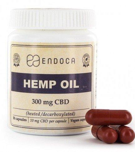 Endoca Hemp Oil Capsules (3% CBD)