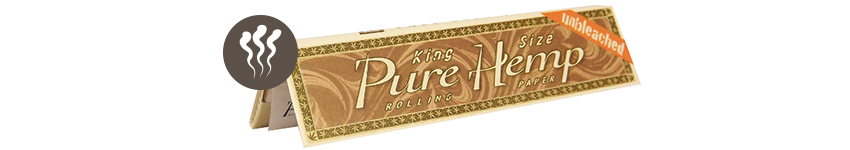 CARTINE PURE HEMP GREZZE KING SIZE