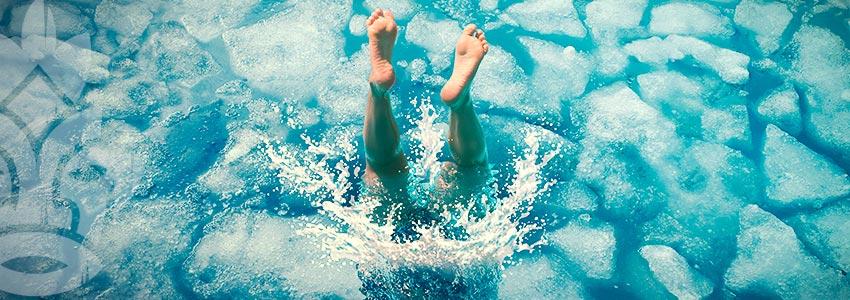 Prova La Terapia Con L'acqua Fredda