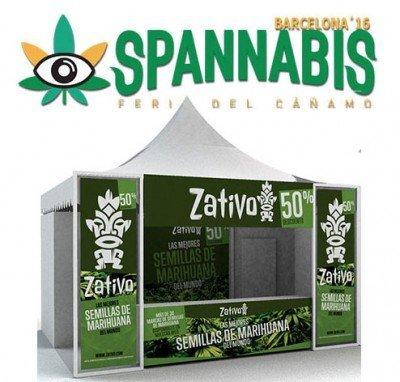 Venite a trovarci allo Spannabis di Barcellona!