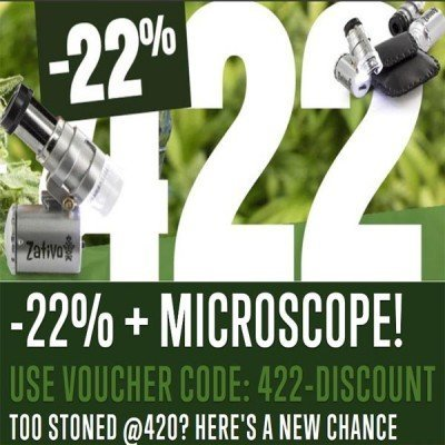 Promo 422: 22% di Sconto + Microscopio LED 60x Gratis!