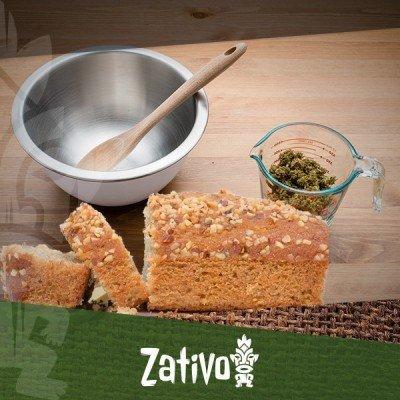 Cucinare con la Cannabis: Pane alle banane con Cannabis