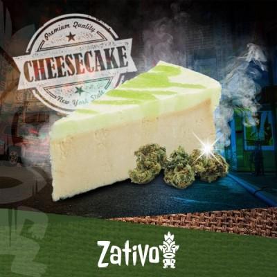 Come Fare Una New York Cheesecake Infusa Con La Cannabis